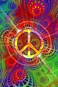 Peace psychadelic