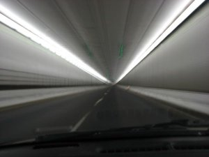 driving thru eisenhower tunnel
